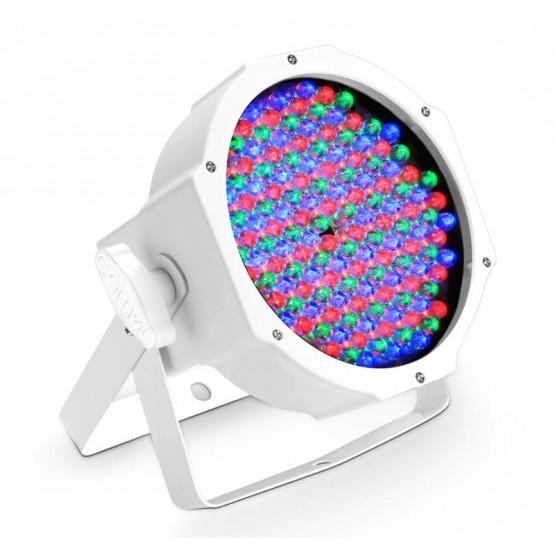 CAMEO CLPFLAT1RGB10IRWH FOCO PAR LED RGB PLANO SPOT 144X10MM BLANCO