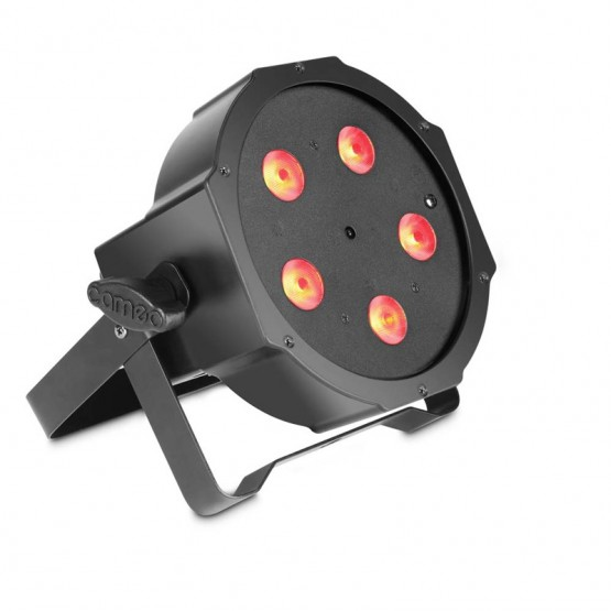 CAMEO CLPFLAT1TRI5X3WIR FOCO PAR LED TRICOLOR RGB PLANO 5X3W