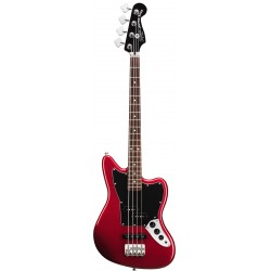 SQUIER VINTAGE MODIFIED JAGUAR BASS SPECIAL SS SHORT SCALE RW BAJO ELECTRICO CANDY APPLE RED