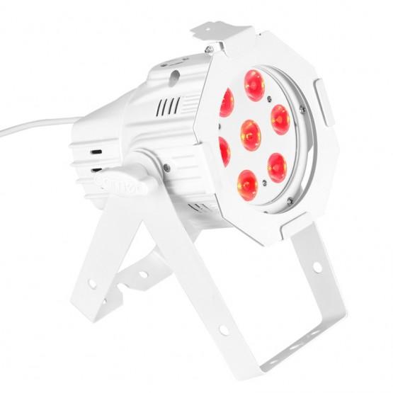 CAMEO CLPSTMINIQ8WWH FOCO PAR LED DE CUATRO COLORES RGBW 7X8W BLANCO