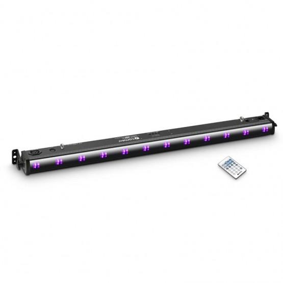 CAMEO CLUVBAR200IR BARRA DE LEDS UV 12X3W