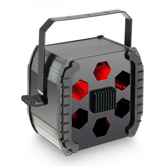 CAMEO MOONFLOWER FOCO DE EFECTOS LED TRICOLOR DE 9W