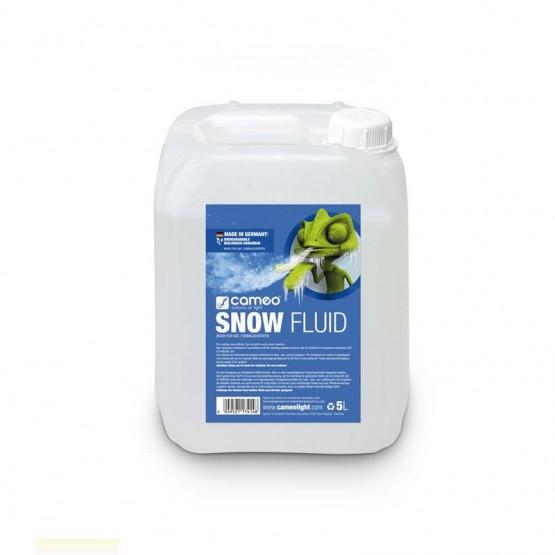 CAMEO SNOW FLUID 5L LIQUIDO ESPECIAL PARA CREACION DE ESPUMA EN MAQUINAS DE NIEVE 5 LITROS