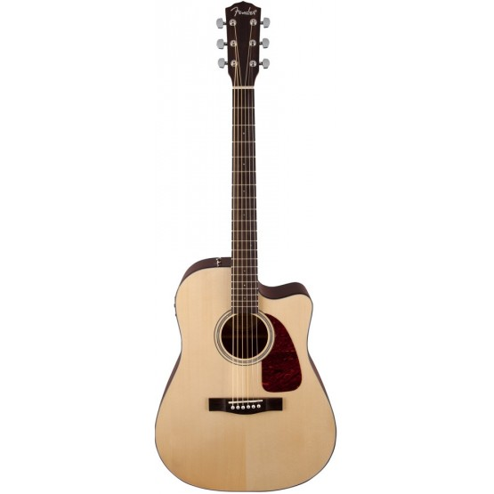 FENDER CD140SCE NAT V2 GUITARRA ELECTROACUSTICA ACUSTICA NATURAL SATINADO