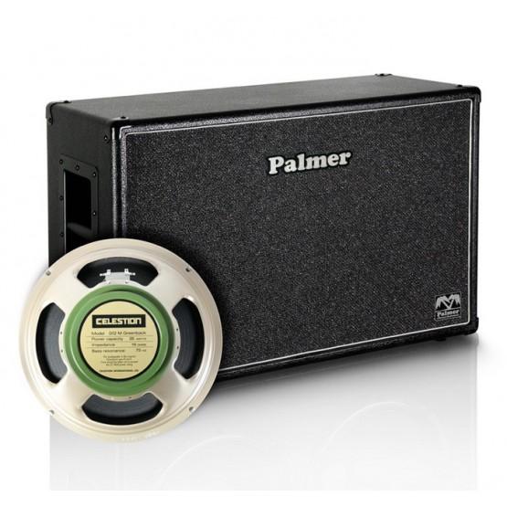 PALMER MICAB212GBK PANTALLA 2X12 CELESTION G12M GREENBACK