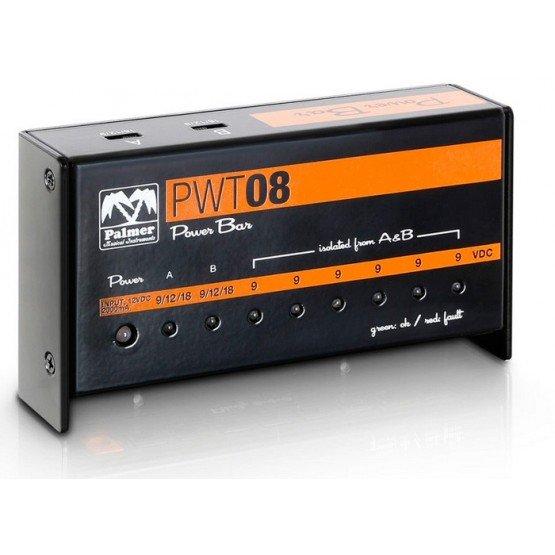 PALMER PWT08 FUENTE DE ALIMENTACION UNIVERSAL 9V 8 SALIDAS