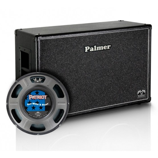 PALMER PCAB212RWB PANTALLA 2X12 EMINENCE RED WHITE AND BLUES