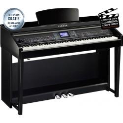 YAMAHA CVP601 PE PIANO DIGITAL CLAVINOVA NEGRO PULIDO