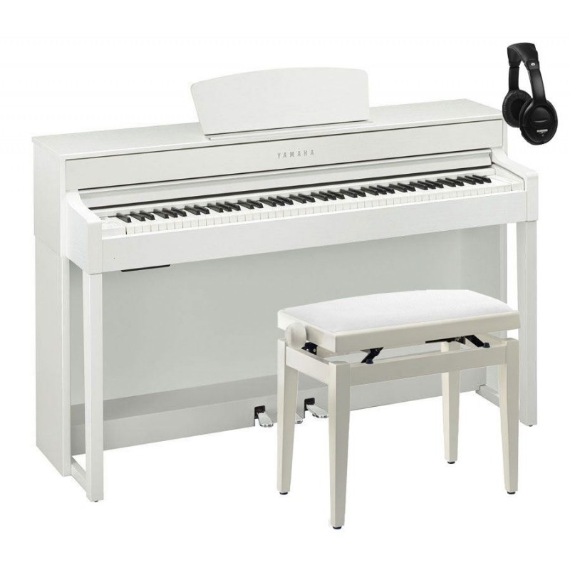 comprar yamaha pack clp535 wh piano digital blanco mate. Black Bedroom Furniture Sets. Home Design Ideas