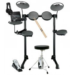 YAMAHA -PACK- DTX400K BATERIA ELECTRONICA + ASIENTO + AURICULARES Y BAQUETAS