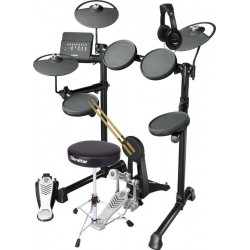 YAMAHA -PACK- DTX430K BATERIA ELECTRONICA + ASIENTO + AURICULARES + BANQUETA