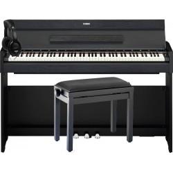 YAMAHA -PACK- YDPS52 B PIANO DIGITAL ARIUS + BANQUETA Y AURICULARES DE REGALO