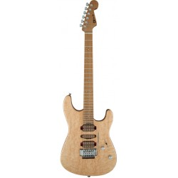 CHARVEL GUTHRIE GOVAN SIGNATURE BIRDS EYE MAPLE MN GUITARRA ELECTRICA NATURAL