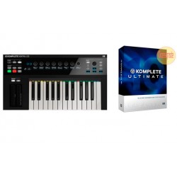 NATIVE INSTRUMENTS -PACK- KOMPLETE KONTROL S25 TECLADO + KOMPLETE10 ULTIMATE CROSSGRADE