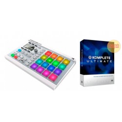 NATIVE INSTRUMENTS -PACK- MASCHINE MIKRO MKII ICE + KOMPLETE10 ULTIMATE CROSSGRADE