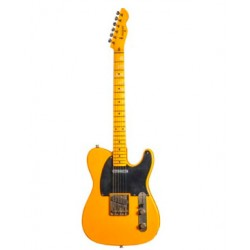 MAYBACH TELEMAN T54 GUITARRA ELECTRICA BUTTERSCOTCH BLACKGUARD AGED