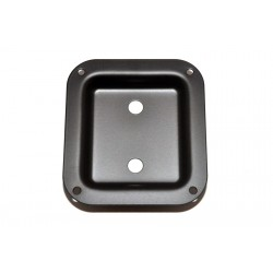 ALL PARTS AH9312003 BLACK METAL DISH SPEAKER CABINET JACK PLATE