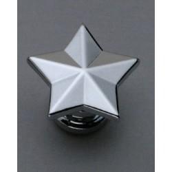 GROVER AP6678010 STAR STRAP BUTTON SYSTEM (2), CHROME