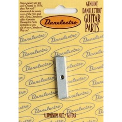 DANELECTRO BN2818000 ALUMINUM NUT FOR GUITAR, WITH SCREW