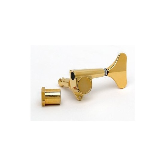 ALL PARTS TK0794002 ECONOMY BASS TUNING KEY, BASS SIDE, SEALED, COMPACT, GOLD, 20:1 EACH OUTLET