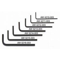ALL PARTS AW4210003 050 ALLEN WRENCH