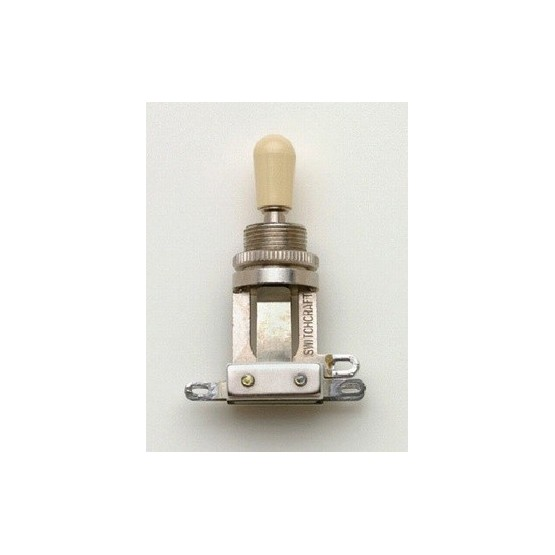 ALL PARTS EP4066000 SWITCHCRAFT SHORT STRAIGHT TOGGLE SWITCH, WITH KNOB