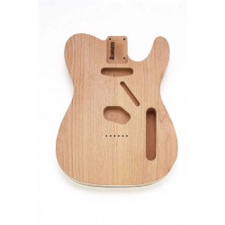 ALL PARTS TBOB REPLACEMENT BODY FOR TELE 2-PC ALDER WITH WHITE BINDING