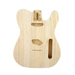 ALL PARTS TBAO REPLACEMENT BODY FOR TELE, SWAMP ASH, TRADITIONAL ROUTING, NO FINISH