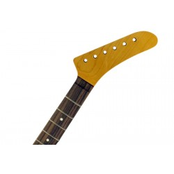 ALL PARTS KRF HOCKEY STICK DROP HEADSTOCK, ROSEWOOD BOARD, CUT FOR LOCKING NUT, 22 JUMBO FRETS, WI