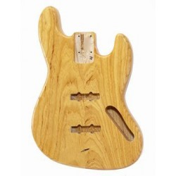 ALL PARTS JBFNAT REPLACEMENT BODY FOR JBASS ASH TRAD ROUTING NATURAL FINISH