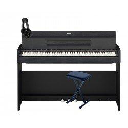 YAMAHA -PACK- YDPS52 B PIANO DIGITAL ARIUS + BANQUETA TIJERA Y AURICULARES DE REGALO
