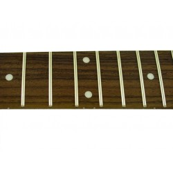 ALL PARTS LT10750R0 25-1/2 SCALE ROSEWOOD FINGERBOARD, WITH DOT INLAYS, 21 JUMBO FRETS
