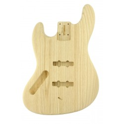 ALL PARTS JBAOL REPLACEMENT BODY FOR LEFTHANDED JAZZ BASS REG SWAMP ASH TRADITIONAL ROUTING NO FINIS
