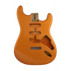 ALL PARTS SBFCAO REPLACEMENT BODY FOR STRATOCASTER REG WITH CANDY APPLE ORANGE FINISH