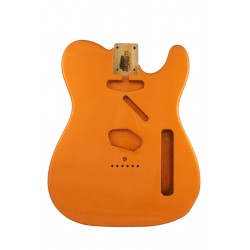 ALL PARTS TBFCAO REPLACEMENT BODY FOR TELECASTER REG WITH CANDY APPLE ORANGE FINISH