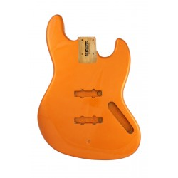 ALL PARTS JBFCAO REPLACEMENT BODY FOR JAZZ BASS REG ALDER WITH CANDY APPLE ORANGE FINISH