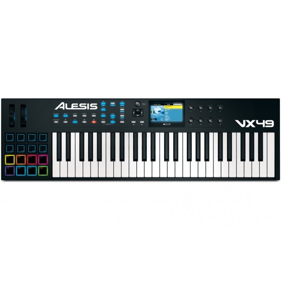 ALESIS VX49 TECLADO CONTROLADOR USB MIDI