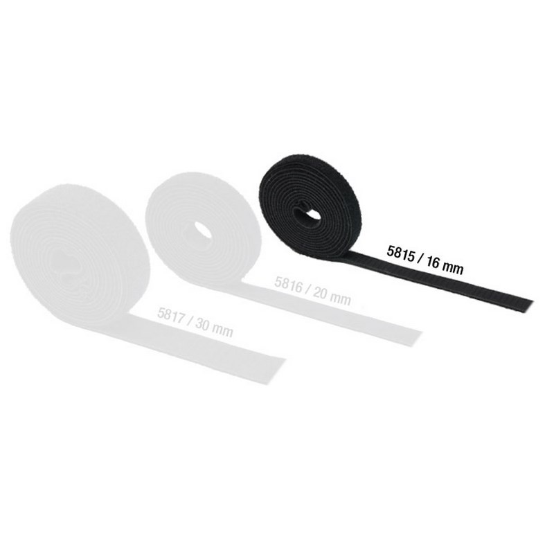 Comprar adam hall 5815 cinta velcro doble cara 16mm - Velcro doble cara ...