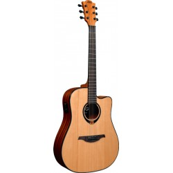 LAG T80DCE TRAMONTANE GUITARRA ELECTROACUSTICA DREADNOUGHT. OUTLET