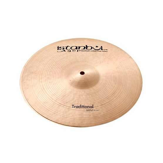 ISTANBUL AGOP TRADITIONAL HIHAT MINI 10 PLATOS BATERIA