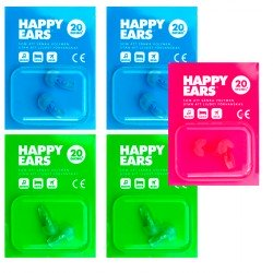 HAPPY EARS -PACK- 5 TAPONES PARA OIDOS