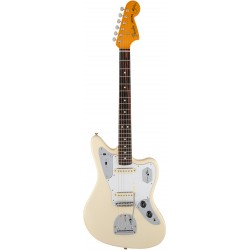 FENDER JOHNNY MARR USA ARTIST SIGNATURE JAGUAR RW GUITARRA ELECTRICA OLYMPIC WHITE