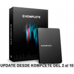 NATIVE INSTRUMENTS KOMPLETE 11 UPD K2 K10 CROSSGRADE ACTUALIZACION PACK DE SOFTWARE. NOVEDAD