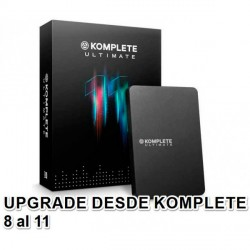 NATIVE INSTRUMENTS KOMPLETE 11 ULTIMATE UPGRADE K8 K10 PACK DE SOFTWARE. NOVEDAD