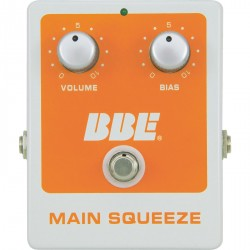 BBE ORANGE SQUASH / MAIN SQUEEZE PEDAL EFECTO COMPRESSOR. OUTLET. DEMO