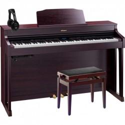 ROLAND -PACK- HP603 CR PIANO DIGITAL 88 TECLAS CONTRAPESADAS + BANQUETA Y AURICULARES