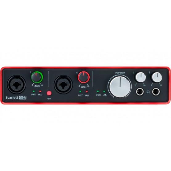 FOCUSRITE SCARLETT 6i6 2ND GENERATION INTERFAZ DE AUDIO USB