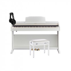 ROLAND -PACK- RP501R WH PIANO DIGITAL + BANQUETA Y AURICULARES
