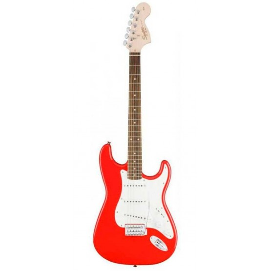 SQUIER AFFINITY STRATOCASTER RW GUITARRA ELECTRICA RACE RED. NOVEDAD