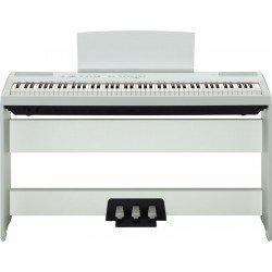 YAMAHA -PACK- P115WH PIANO DIGITAL BLANCO + SOPORTE + PEDALERA
